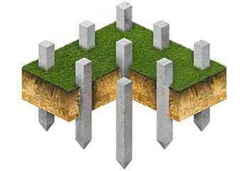 Для фундаментов деревянных, каменных, каркасных, железобетонных домов и построек.